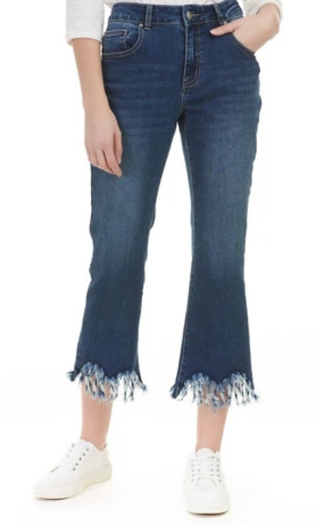 Charlie B Frayed Jeans