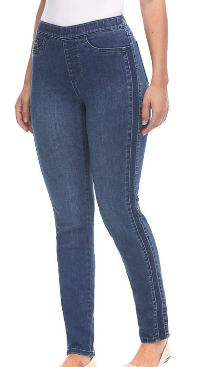 FDJ pull on cigarette ankle pant