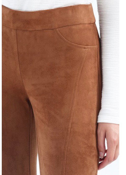 Charlie B Ultra Suede Pull on Pant