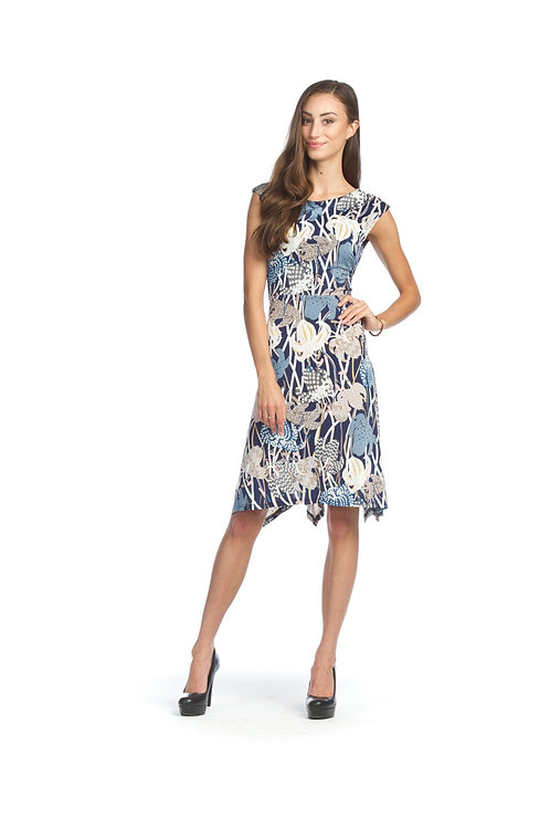 Papillon Textured Floral Dress