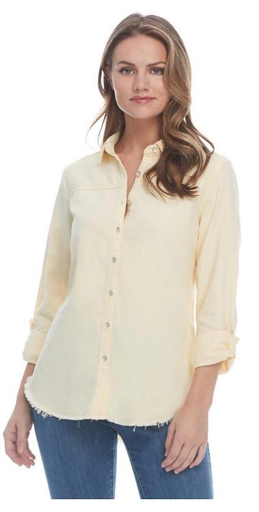FDJ Linen Blend Shirt