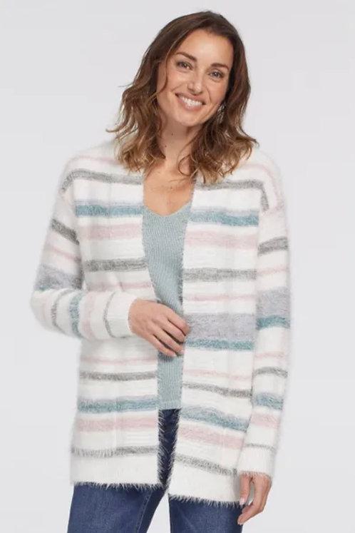 Tribal Eyelash Cardigan Sweater
