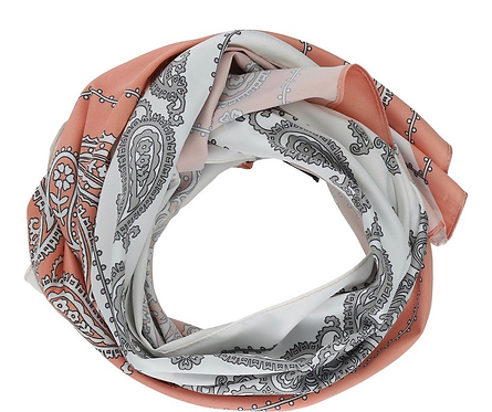 Soya Rose and Paisley Neck Scarf