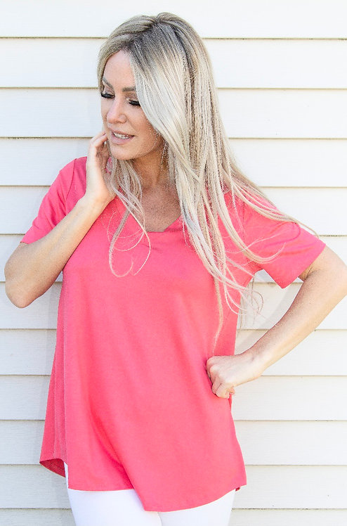 Pure Essence Bamboo V Neck Tee
