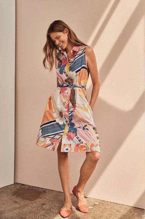 Charlie B Cotton/Linen Dress