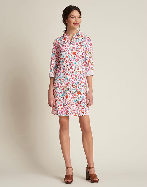 Hatley Cara  Linen Shirt Dress