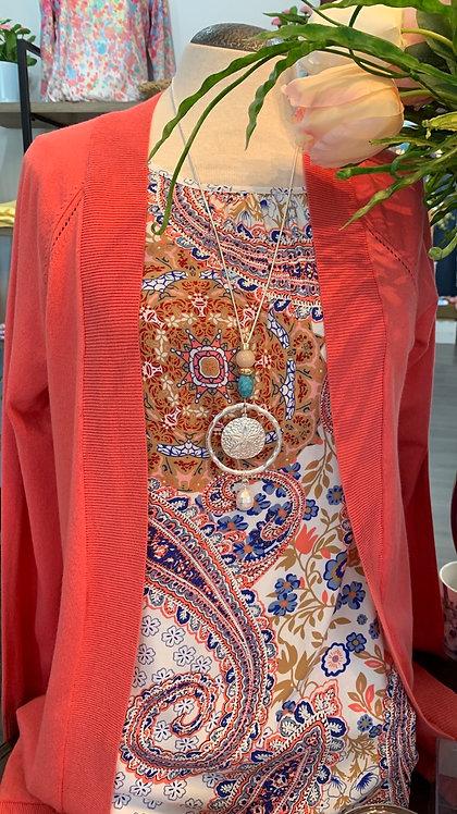 Soya Concept Paisley Print Blouse