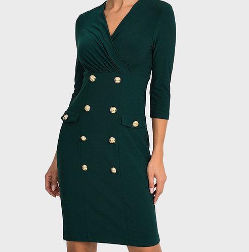 Joseph Ribkoff Emerald Dress