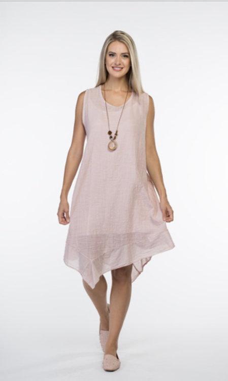 Cherish Linen Dress