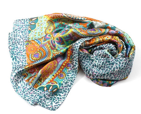 Dreamscape Scarf Green