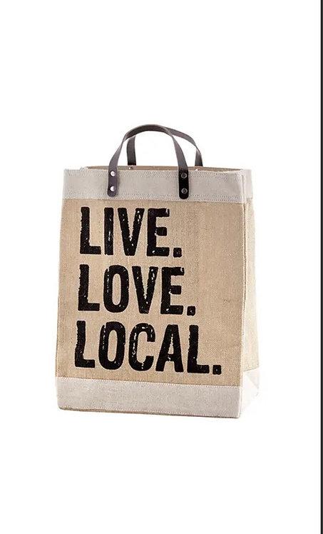 Santa Barbara Market Tote Live Love Local