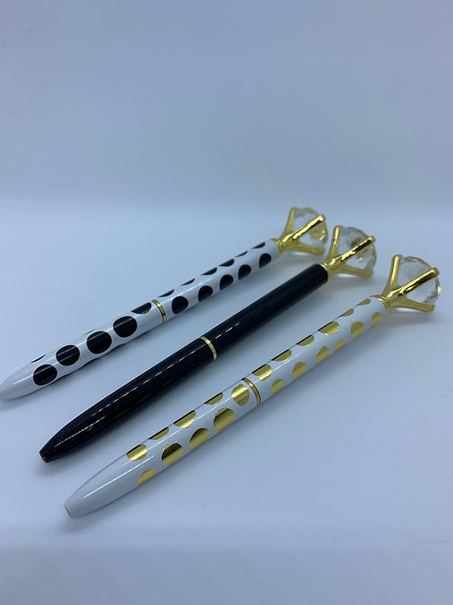 Jeweled Pen - Assorted