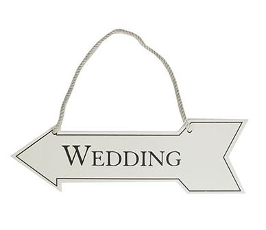 MDF Wedding Arrow