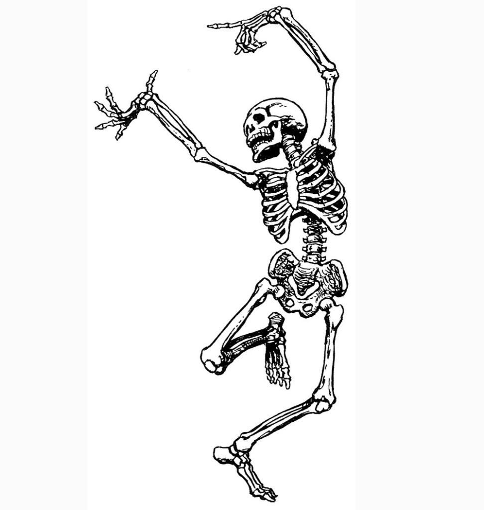 A balanced skeleton is a happy skeleton
