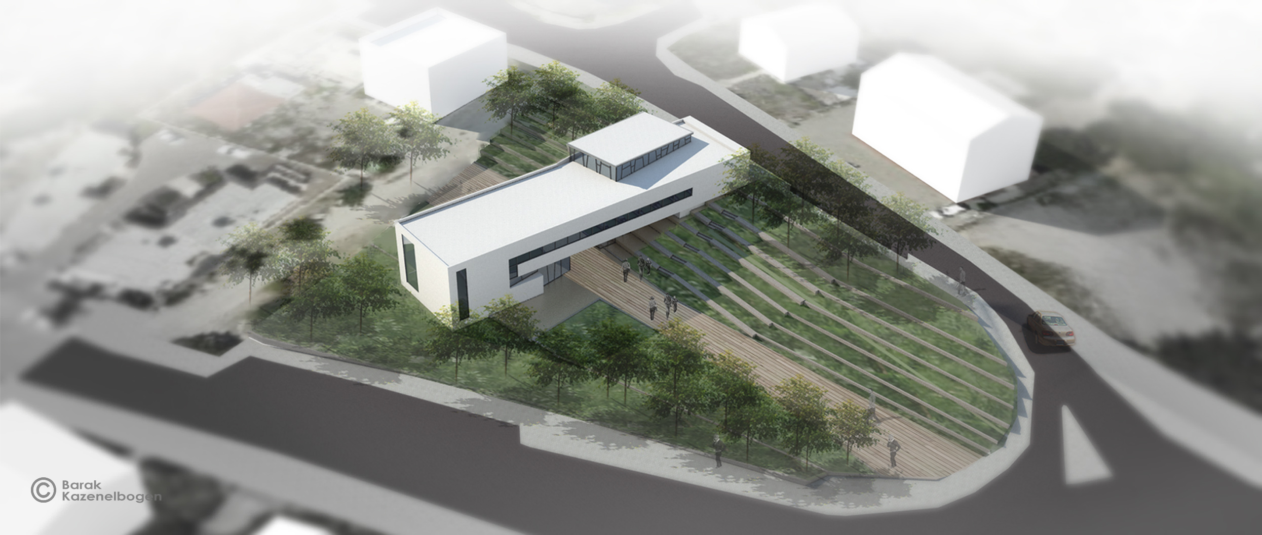 Ramat-Yishay memorial center - Archi