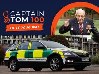 Captain Tom's 100-hour Responding Challenge