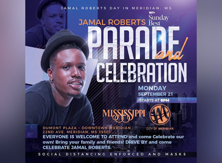 Drive by parade to be held in downtown Meridian for Jamal Roberts