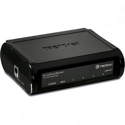TRENDnet 4-Port Broadband Router