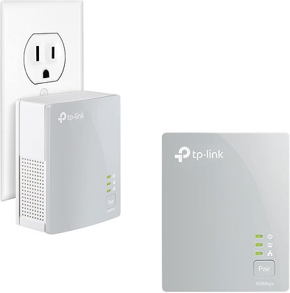 TP-Link AV600 Powerline Ethernet Adapter (TL-PA4010 KIT)