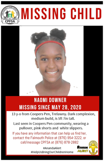 Search on in Trelawny for missing 13-year-old girl