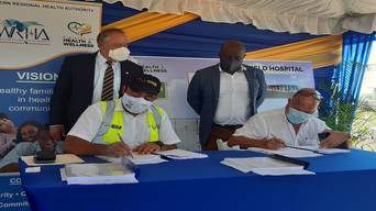 Contract signed for construction of two more COVID-19 field hospitals