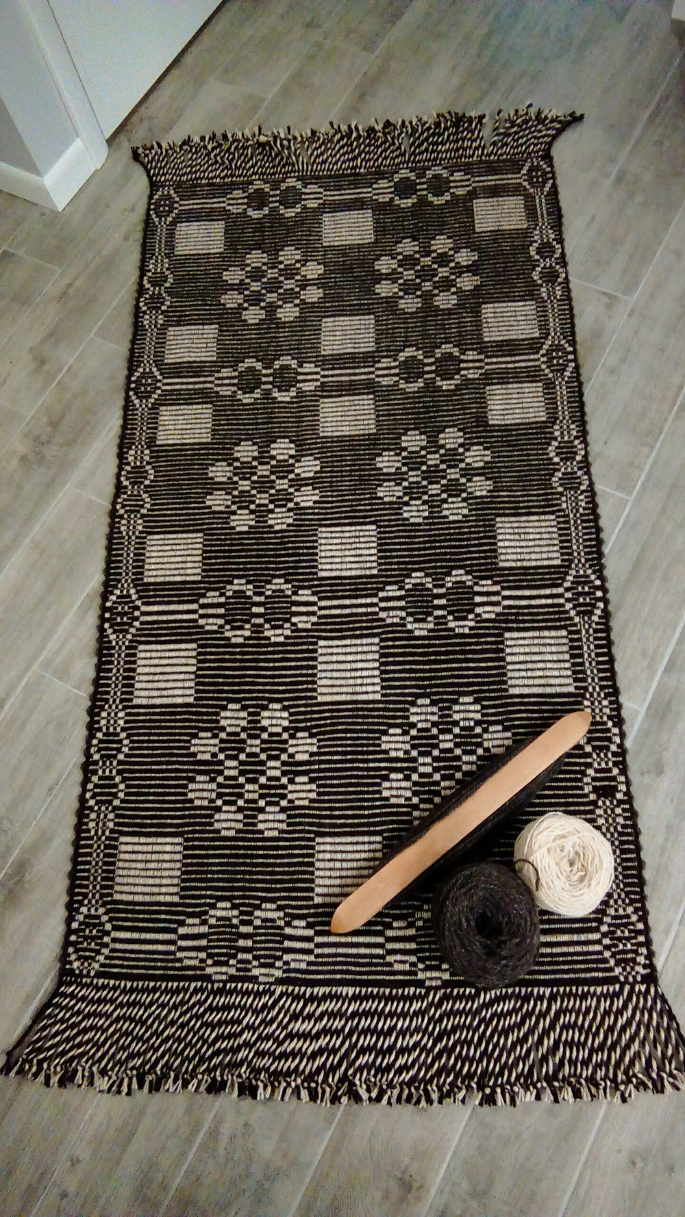 Rug by Peggy Siders