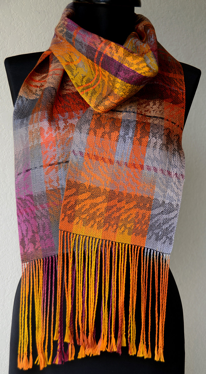 Winds of Change scarf, Lynn Smetko