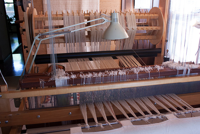 Loom warped and ready