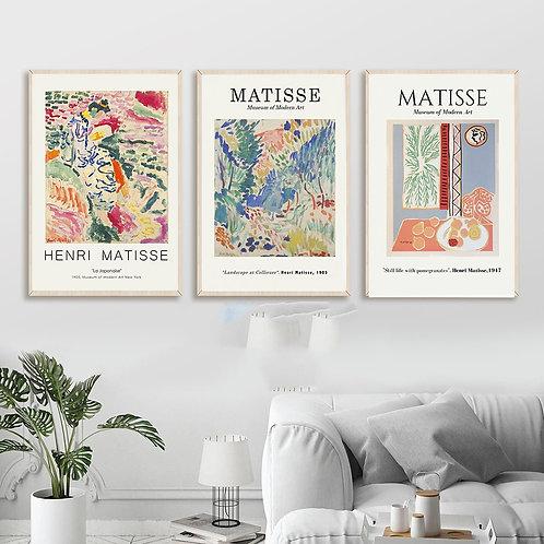 Vintage Henri Matisse Prints