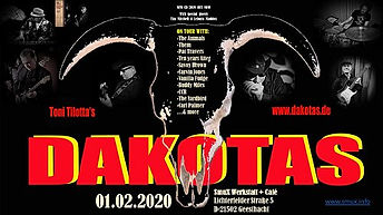 Livemusik-Konzert mit Tony Tilotta's Dakotas