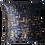 Thumbnail: Capa de almofada - Mescla azul