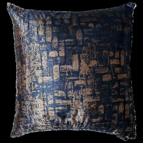 Capa de almofada - Mescla azul