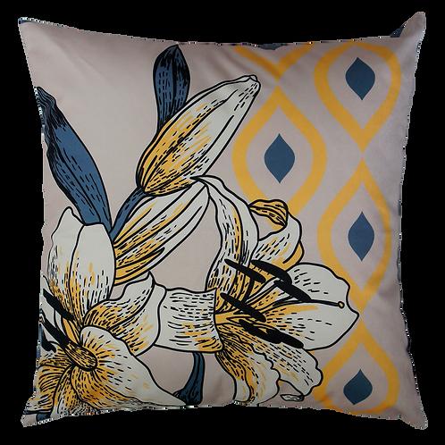 Capa de almofada - Yellow Flower