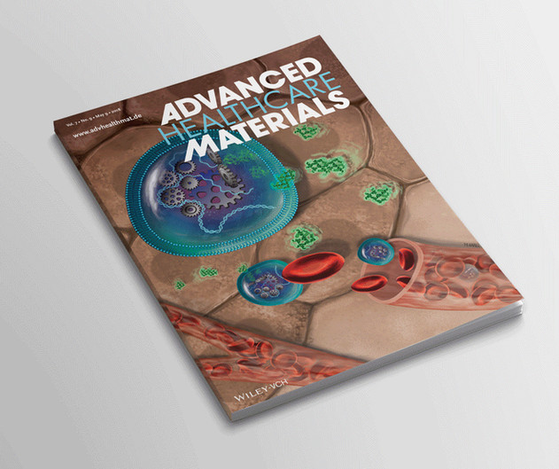 Cover art, Advanced Healthcare Materials