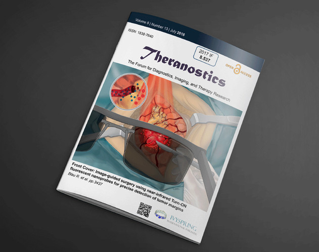 Cover art, Theranostics