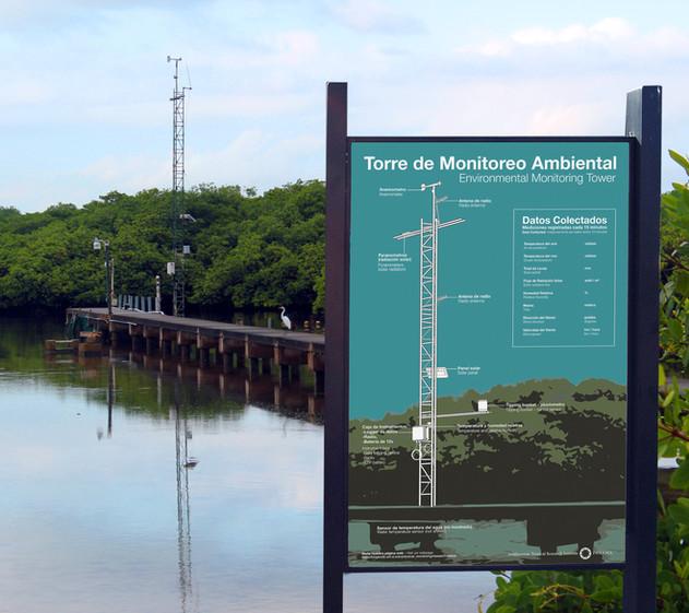 Environmental Monitoring Tower