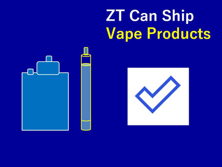 ZT Can Ship Vape Products