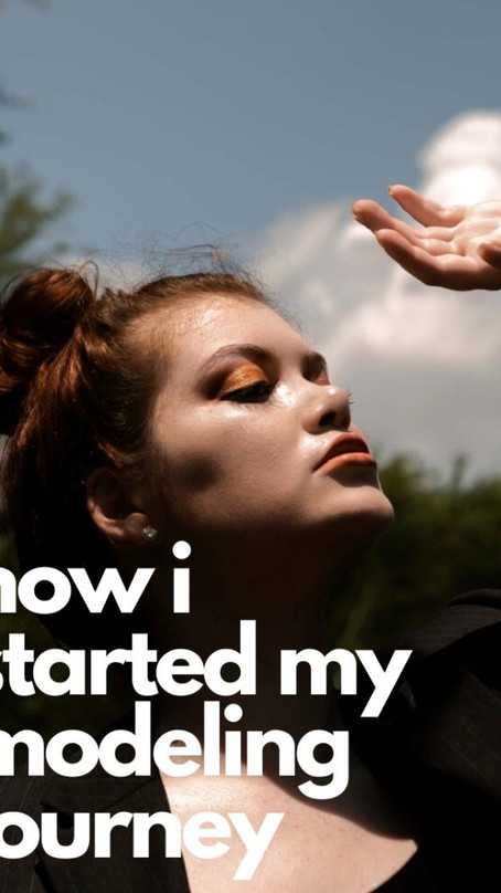 How I Started My Modeling Journey