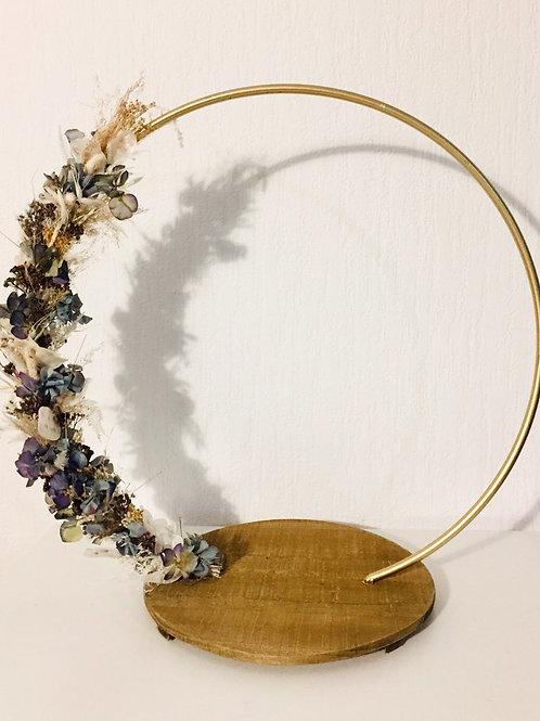 Trockenblumen Ring
