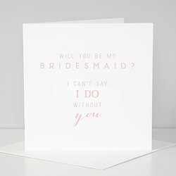 Online gifts ireland justsomethingnice greeting cards bridesmaid m4hsunfo