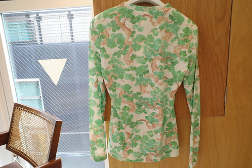 forest printed top