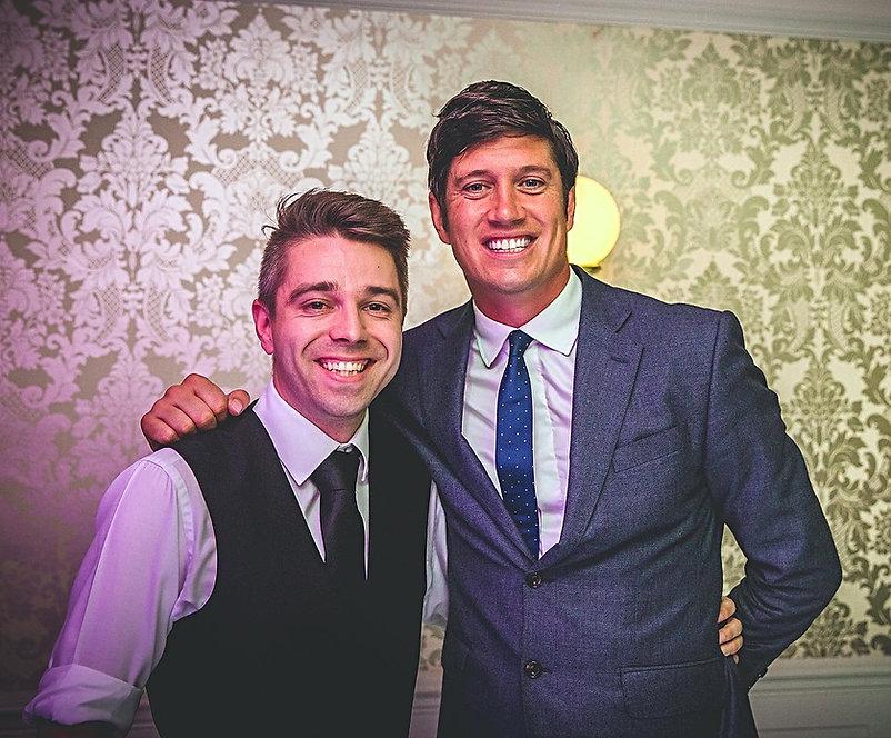 Ryan Smith Wedding Host & DJ Vernon Kay