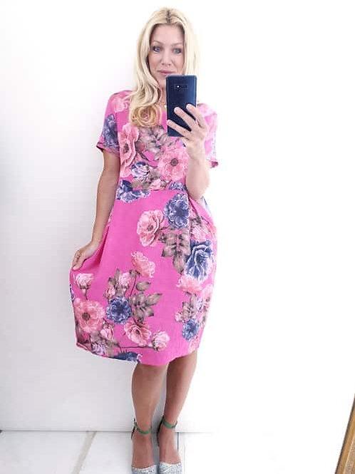 Helga May Big Blossom Jungle Dress