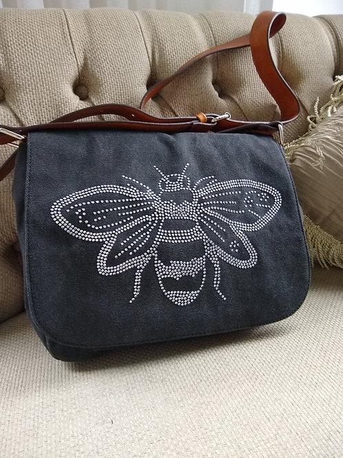 Sassy Duck 'Bee' Canvas Shoulder Bag
