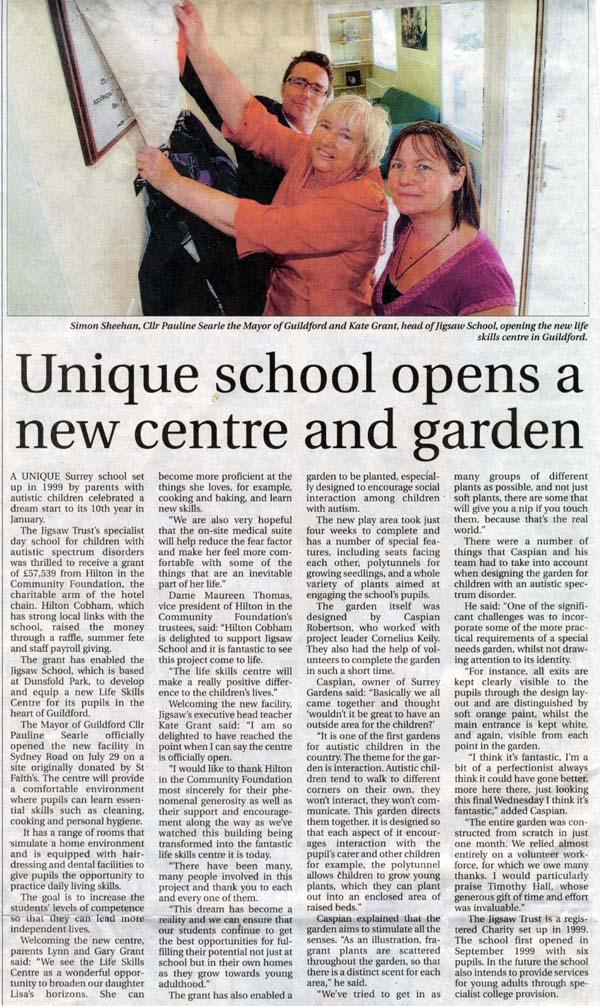 Jigsaw School Garden