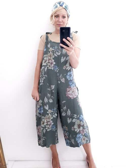 Helga May Jumpsuit - Forest