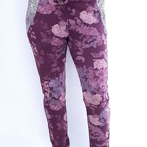 Helga May Sequin Detail Stretch Joggers
