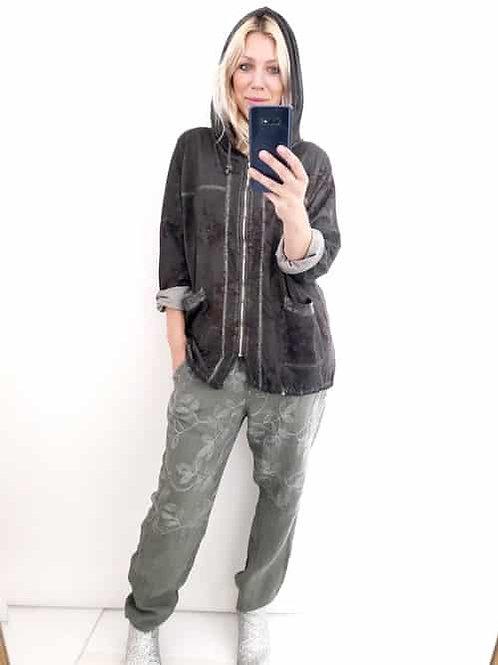 Helga May 'Silver Lining' Hoodie / Jacket