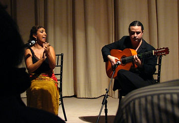 Esperanza Fernandez and Ricardo Marlow at the National Gallery of Art November 2011