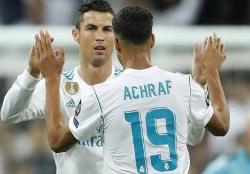 زيدان يحسم قراره النهائي بشأن عودة حكيمي إلى ريال مدريد